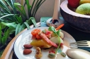 熱帶水果鮮蝦沙拉 / Mixed Fruits and Shrimp Salad / ยําผลไมู้