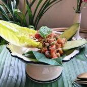 涼拌酸辣鮮香茅 / Lemongrass Salad / ยําตะไครู้