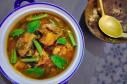酸咖哩魚時蔬 / Sour Currywith Fish and Mixed Veggies / แก้งส้มปลาผักรวม