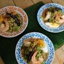 楊桃豆鮮蝦沙拉 / Wing Bean with Shrim Salad / ยำถั่วพู