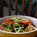 咖哩炒蟹 / Stir-Fried Crab with Curry Powder / ปูผัดผงกะหรี่