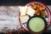 香蘭卡士達、泰式油條 / Pandan Custard、Thai Youtiao / สังขยาใบเตยปาท่องโก๋