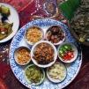 寮式捲 / Herb with Pork and Peanut Balls Wrapped Lao Style / เมี่ยงลาว