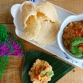 抬頭米餅 / Rice Cracker set with Pork and Shrimp Peanut Dip / ข้าวตังหน้าตั้ง