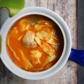 黃咖哩酸筍魚 / Southern Sour Fish Curry with Pickled Bamboo Shoot / แกงส้มหน่อไม้ดอง