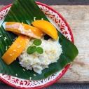 芒果糯米 (季節性甜點) / ข้าวเหนียวมะม่วง / Mango with Sticky Rice