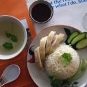 泰式油雞飯 (海南雞飯) / ข้าวมันไก่ / Hainanese Chicken Rice