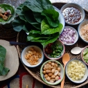 什錦辛香青葉卷〖一口金〗/ เมี่ยงคำ / Thai Leaf wrapped bite-size with Herbs
